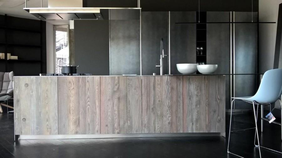Cucina con Isola Boffi APRILE + HIDE a Modena - Sconto 59%