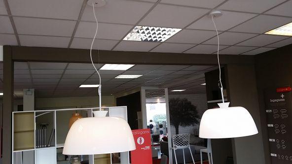 Lampada sospesa calligaris arp ge a como sconto 50 for Arp arredamenti