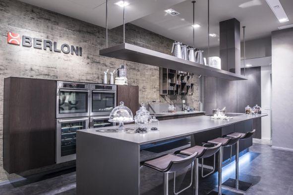 Cucina Berloni B. cinquanta anta taglio 35° - Milano