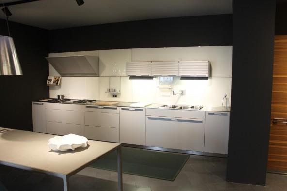 Cucina Lineare Bulthaup B3 Laccato Platino Monza E Brianza