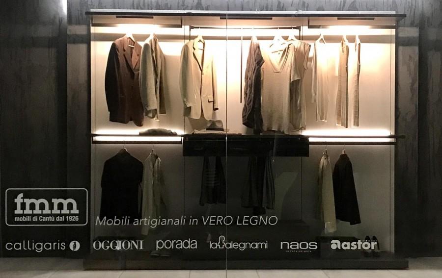 Cabina armadio novamobili cabina armadio break a como for Cabina a 2 piani