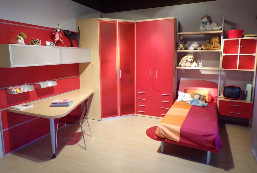 camerette design cabina armadio