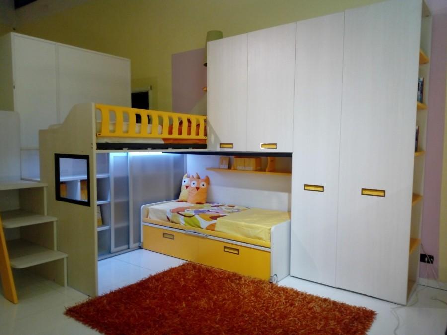 Camerette A Soppalco Moretti.Cameretta Moretti Compact Kids Collection Soppalchi