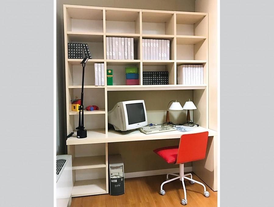 Cameretta con cabina armadio Zalf mobili Libreria e Armadio Multispazio