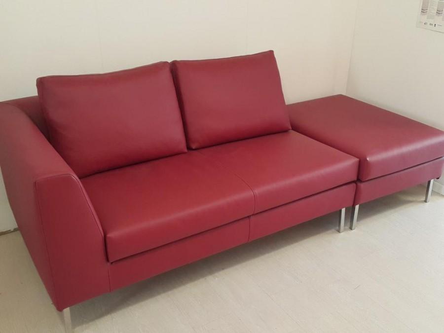 Divano Chaise Longue Spagnol Sofa Leather Basic A Milano