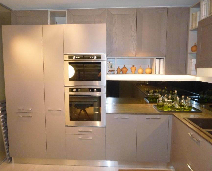 Cucina la casa moderna tortora a milano codice 19720 for Casa moderna milano