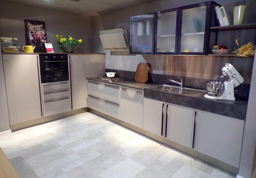 Cucina Angolare Febal Marina 3 0 A Brescia Sconto 43