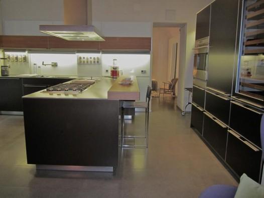 Cucina Angolare Bulthaup B3 Alluminio E Legno Napoli