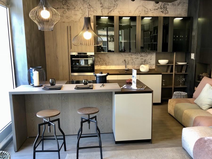 Cucina Con Isola Stosa Cucine Natural A Prato Sconto 53