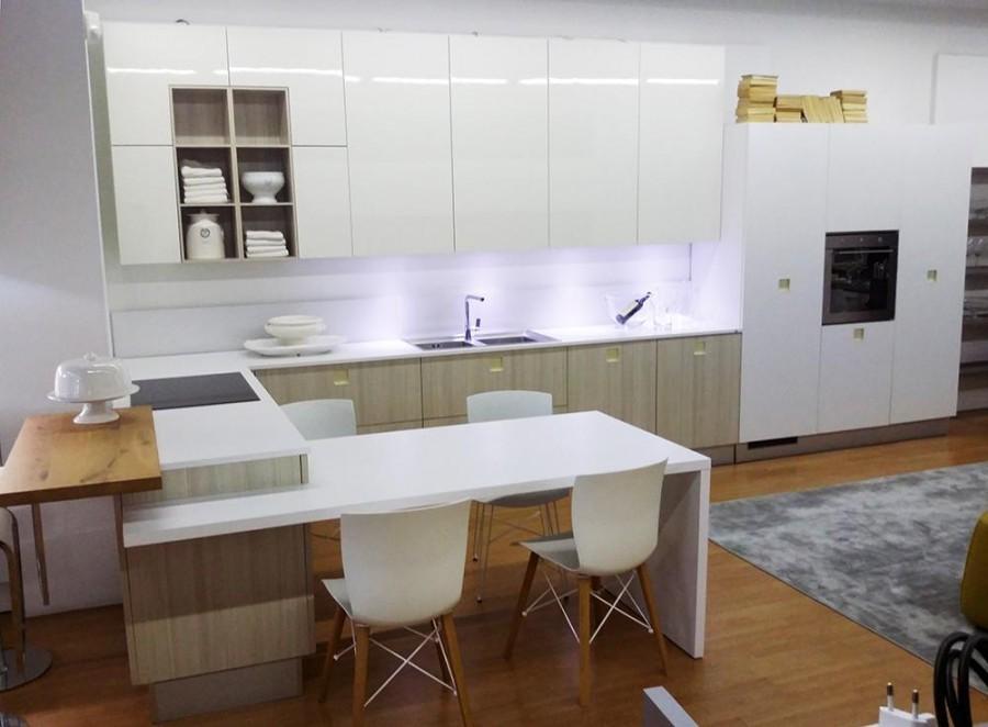 Cucina Con Penisola Composit Quadra A Monza E Brianza Sconto 46