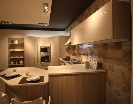 Cucina Carrera Veneta Cucine.Cucina Con Penisola Veneta Cucine Carrera Plus Siracusa