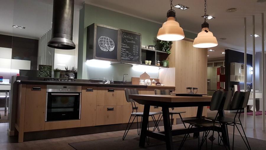 Cucina lineare Scavolini Diesel Social Kitchen