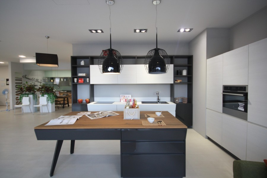 Cucina con Isola Scavolini Motus