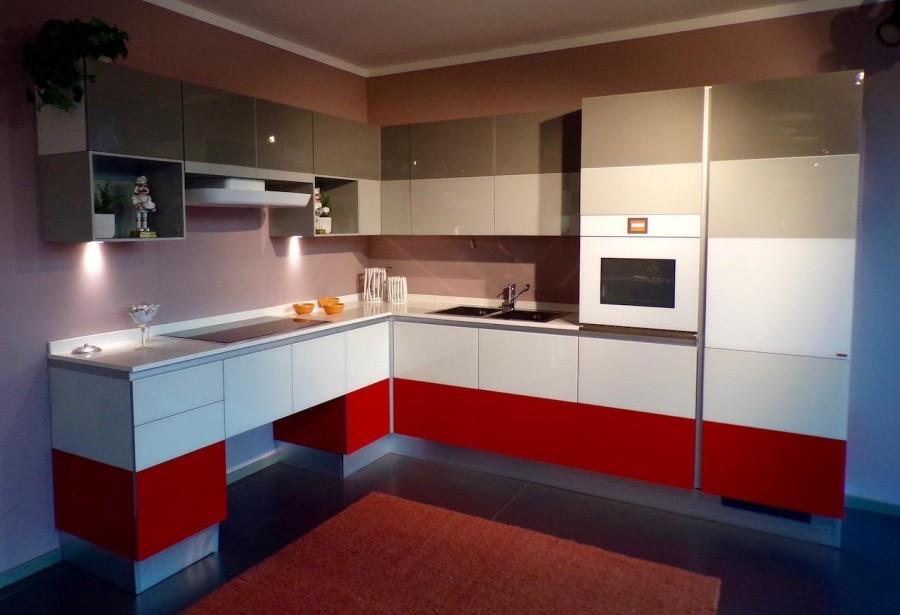 Cucina Scavolini Tetrix a Bergamo - Sconto 60%