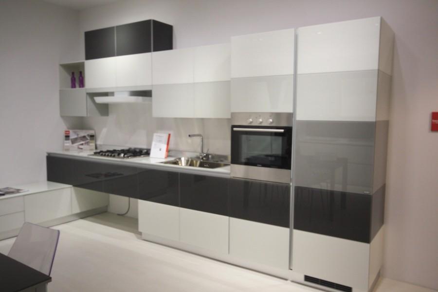 Cucina Scavolini Tetrix + living