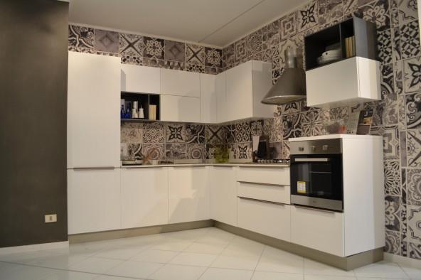 Cucina angolare Stosa Cucine Infinity Diamond - Siena