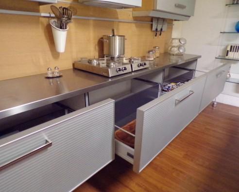 Cucina con Isola Toncelli Systema TL - Brescia