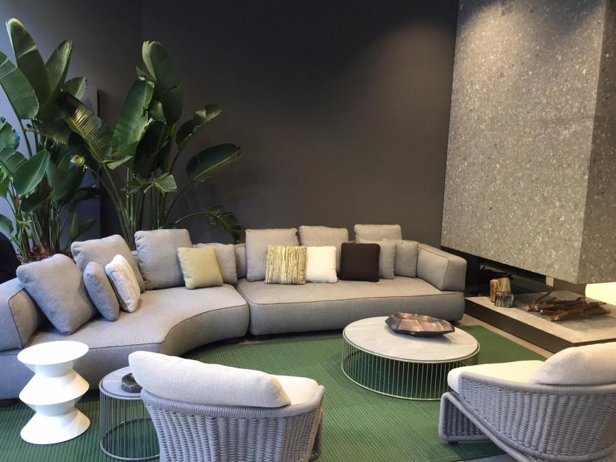 divano da giardino minotti florida outdoor a milano