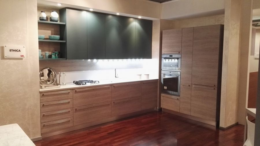Outlet Cucine Veneta Cucine.Cucina Lineare Veneta Cucine Ethica A Monza E Brianza Sconto 57