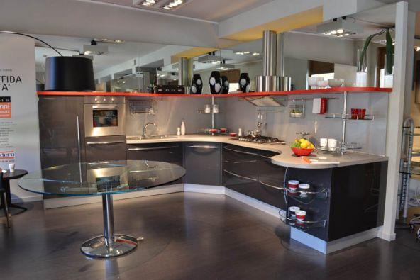 Cucina angolare snaidero sky line top a lecco - Lavandini angolari cucina ...
