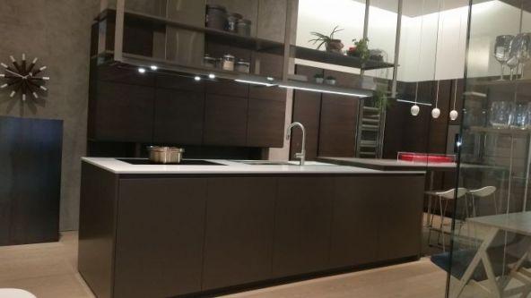 Cucina Dada Hi-Line 6 composizione isola - Como