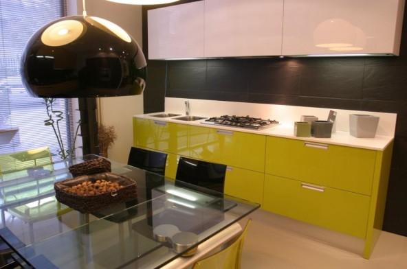 Cucina lineare Copat Iride - Milano