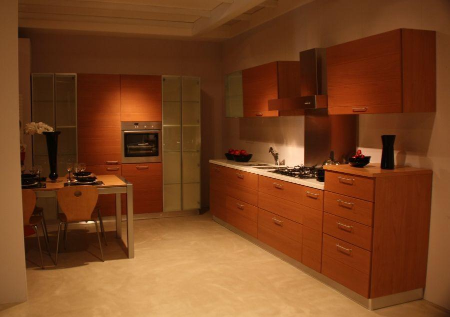 Cucina Scavolini In Ciliegio : Cucina baltimora di scavolini
