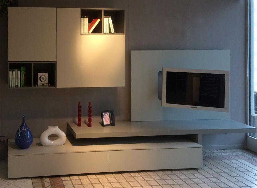 Soggiorno componibile San Giacomo Living System-Lampo a Varese ...