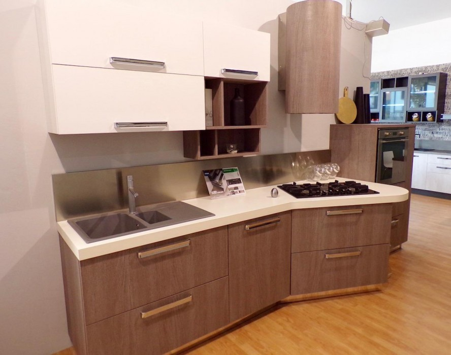 Cucina lineare Stosa Cucine Milly