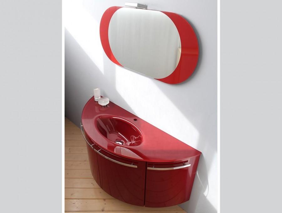 Mobile bagno Kios LUX Rosso