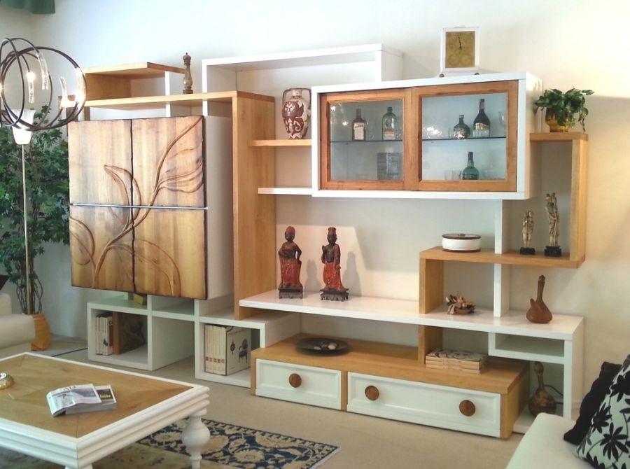Libreria marchetti pg700 con armadio natura a pisa for Mobili design scontati