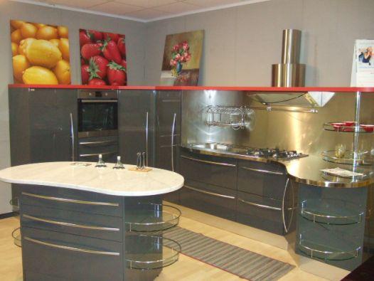Cucina Con Isola Snaidero Sky Line A Novara - Cucine Snaidero In ...