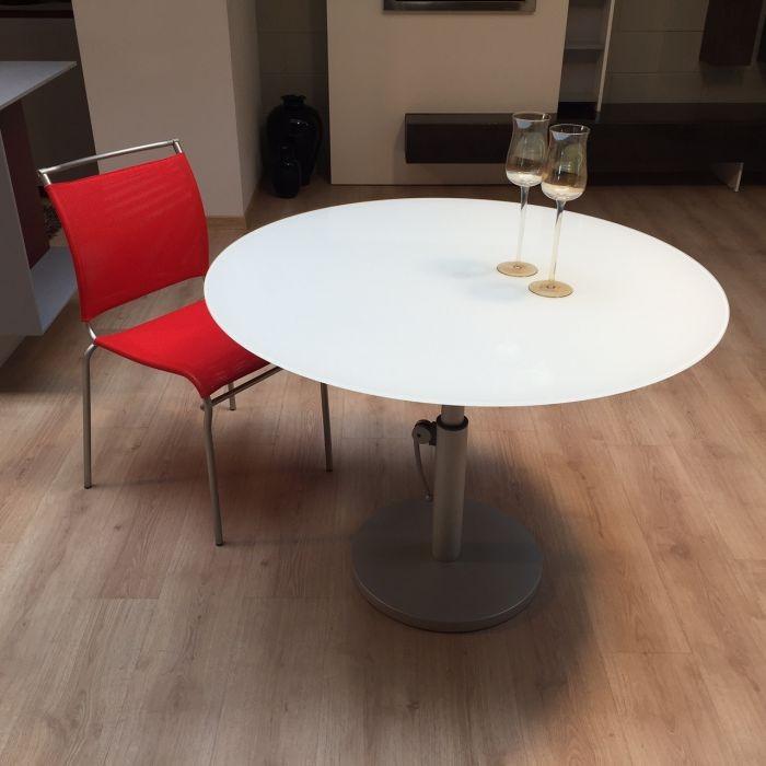 Tavolo glas italia tavolo regolabile in altezza a varese sconto 50 - Tavolo regolabile in altezza ...