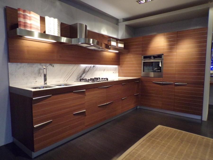 Time Kitchen von Snaidero in Timeless Teak | Küche ...