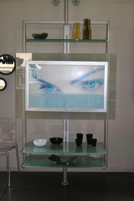 Porta Tv Girevole Porada.Porta Tv Porada Ubiqua Cristallo