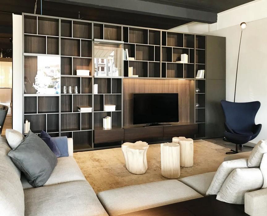 Libreria Poliform Wall System a Vicenza - Sconto 40%