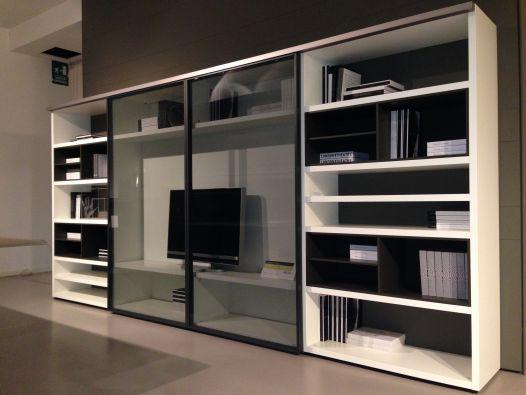Libreria Poliform Wall System a Mantova