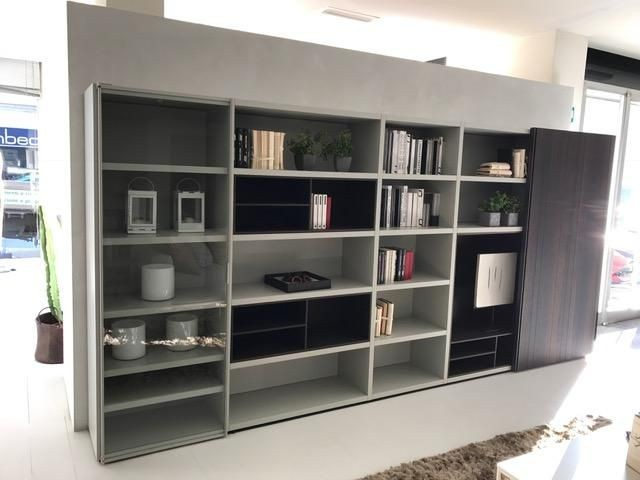 Libreria Poliform WALL SYSTEM