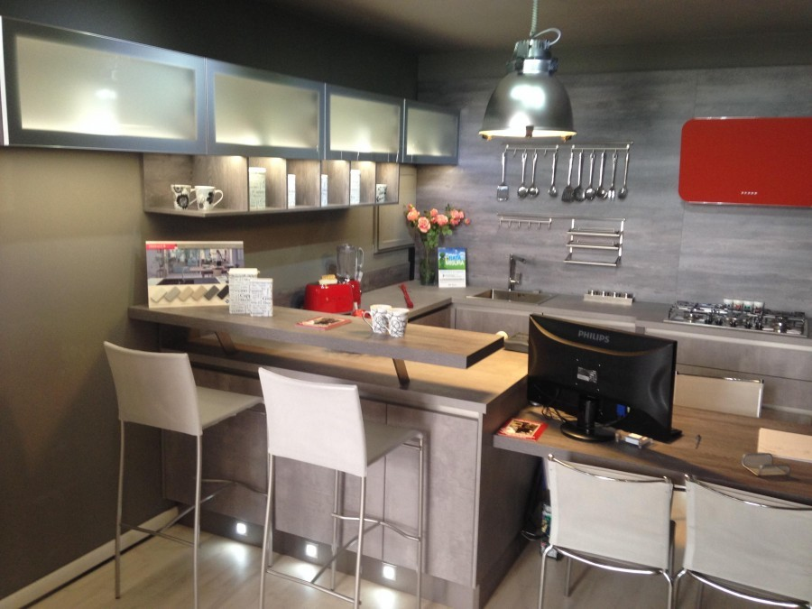 Cucina wellmann sierra oxide a novara sconto 66 - Portarotolo cucina verticale ...