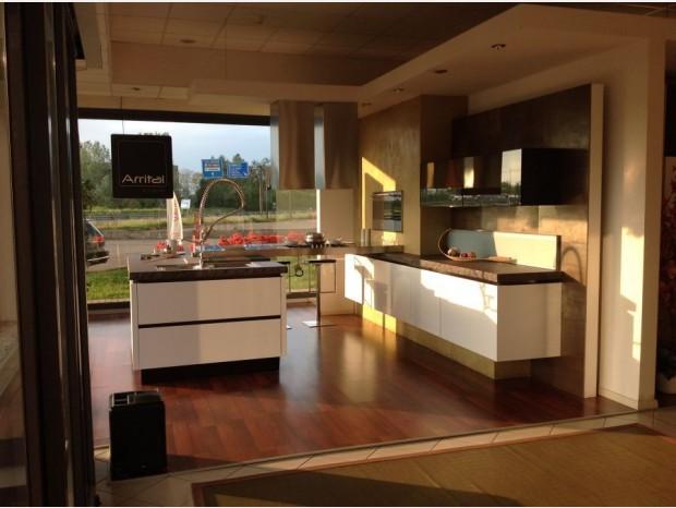Cucina con Isola Arrital ONDA