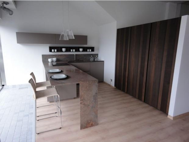 Cucina con penisola Zampieri Cucine modello Y