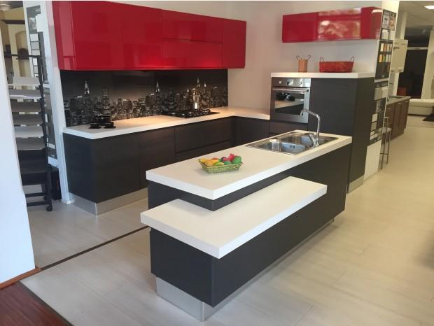 Cucina con Isola Arrex Arcobaleno