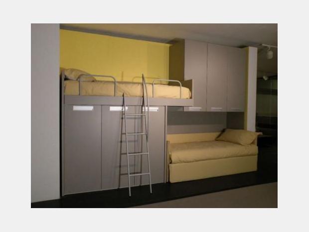 Prezzi gab misuraemme offerte outlet sconti 40 50 - Cameretta con letto a castello ...