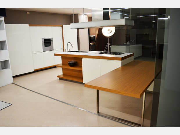 Cucina con Isola Varenna Matrix