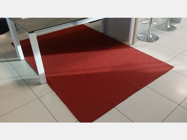 Tappeto Calligaris Very Flat Rosso