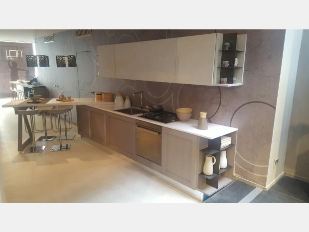 Cucina Berloni B50 anta taglio inclinato - Milano