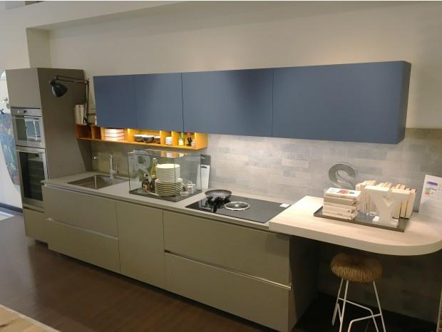 Cucina lineare Ernestomeda One 80