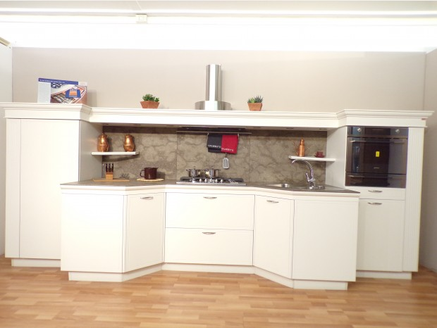Cucina Ola 20 Snaidero. Traditional Kitchen Wooden Island Lacquered ...
