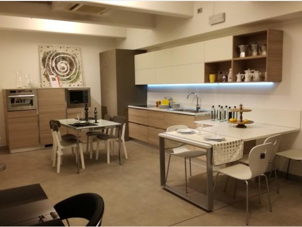 Cucina con penisola Scavolini Mood Flat