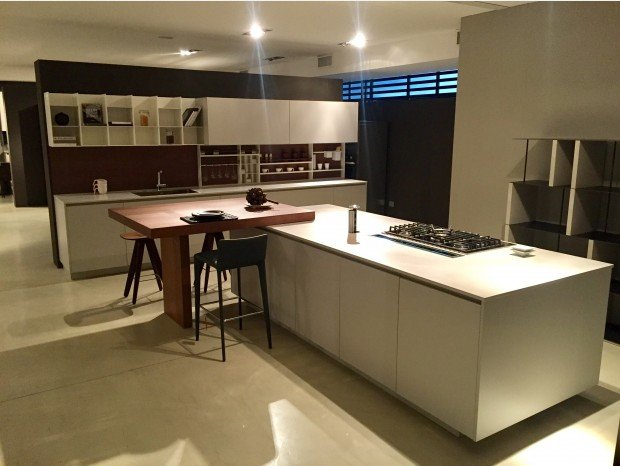 Varenna Alea. Excellent Lacquered Linear Wooden Kitchen Kyton By ...
